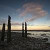Sunrise at Allonby beach, West Cumbria