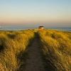 Cumbria Wildlife Trust hide on Walney Island