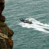 Powerboat at St Bees