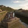 Sculpture at Maryport, West Cumbria