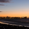 Morecambe Front at Sunset